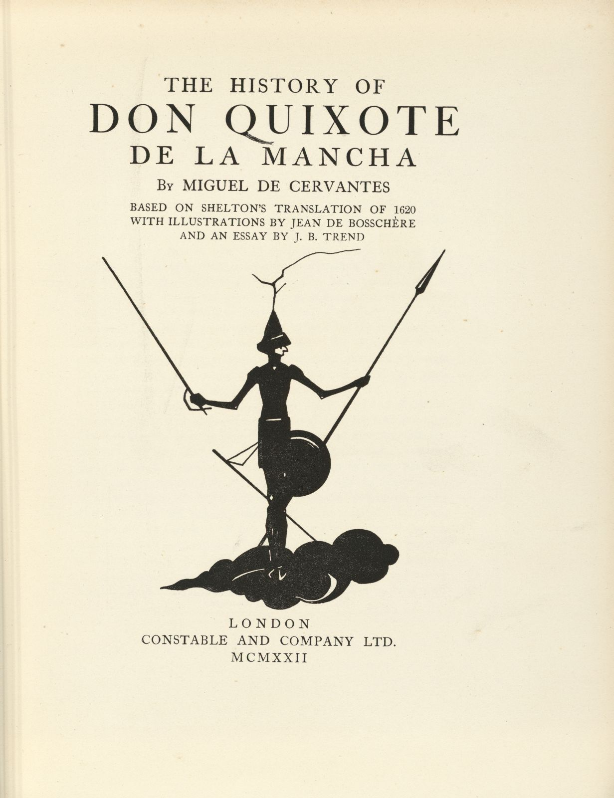 don quijote essay Free essay: cervantes' motivation for writing don quixote miguel de cervantes' greatest literary work, don quixote, maintains an enduring, if somewhat.